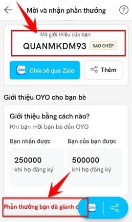 Cách kiếm tiền từ OYO Hotel Booking để ở khách sạn miễn phí 3