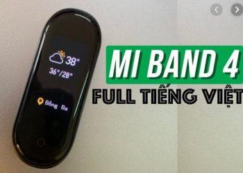 cài tiếng Việt mi band 4