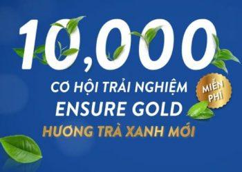 Hướng dẫn nhận sữa Ensure Gold hương Trà xanh miễn phí từ Abbott 4