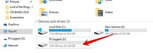 ánh xạ ổ đĩa Drive về máy tính