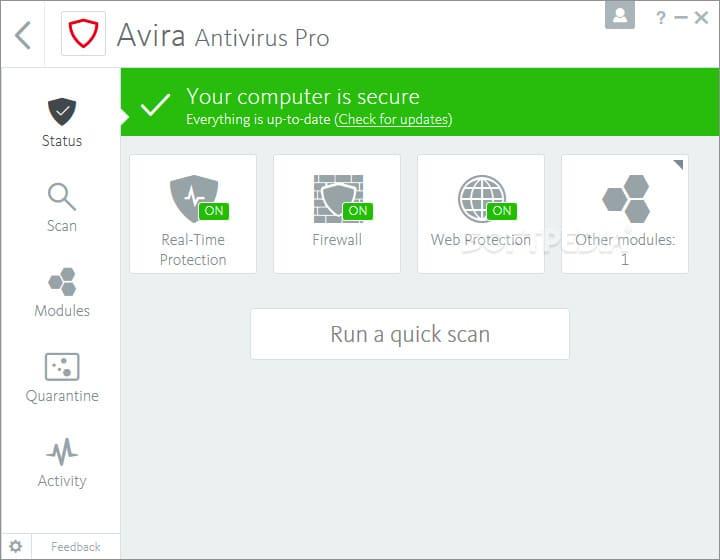 Share Key Avira Antivirus Pro đến năm 2099