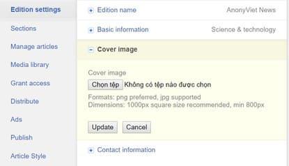 Cách đưa Website lên Google News để làm nguồn tin tức cho Google 2
