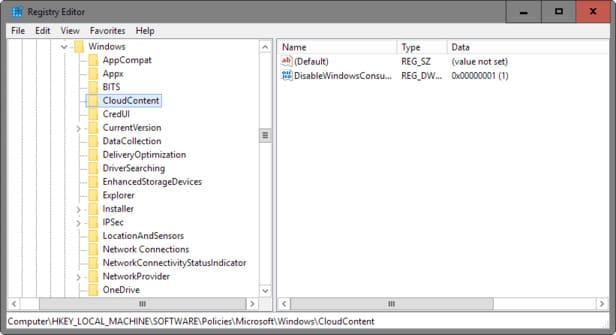 Tắt tính năng tự cài đặt Game và App của Windows 10 ở chế độ nền 8