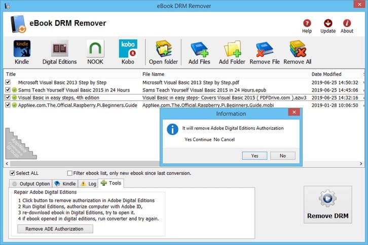 Download eBook DRM Removal Bundle xóa bản quyền DRM Ebook