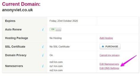 Cách đăng ký domain CO.UK miễn phí không cần VISA từ LCN 4