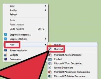tạo Shortcut cho file trên usb hack password