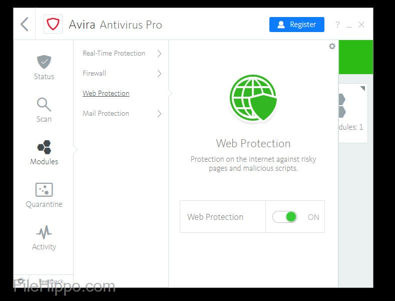 Share Key Avira Antivirus Pro License Key