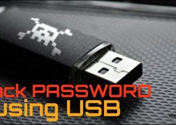 Cách tạo USB Hack Password trên máy tính người khác 1