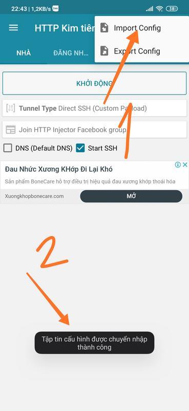 Hack băng thông DATA 3G Vinaphone
