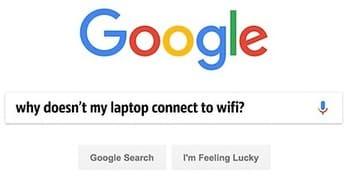 Hỏi Google về bất kỳ vấn đề nào bạn gặp phải trước khi hỏi người khác