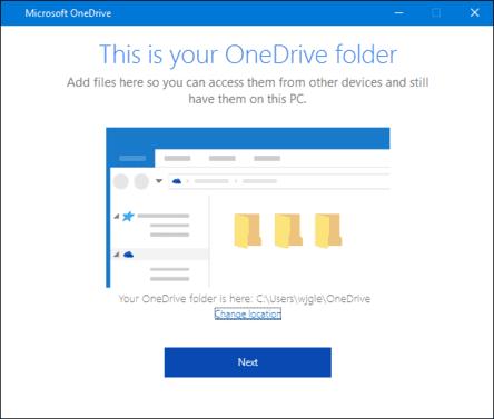 backup máy tính bằng OneDrive