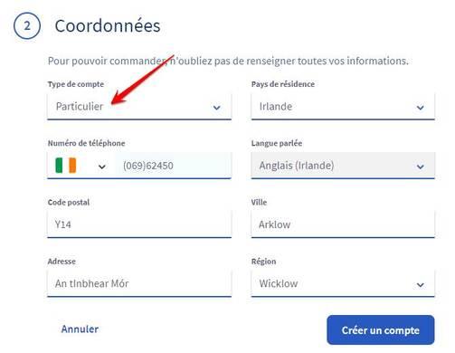 thông tin của cư dân Ireland đăng ký domain .best miễn phí