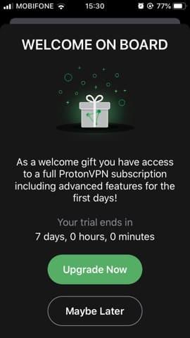 Account ProtonVPN Premium 7 day