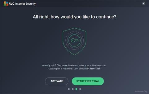 License key AVG Internet Security