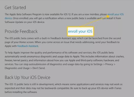 enroll your iOS device