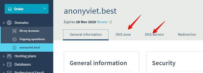 Quản lý Domain .Best miễn phí