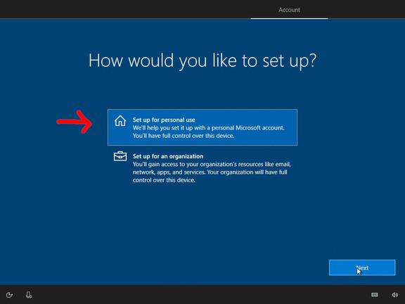 Không sử dụng các cài đặt mặc định bảo vệ quyền riêng tư trên windows 10