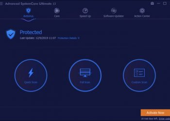 Advanced SystemCare Ultimate 13 Full Key