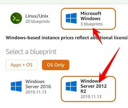 tạo vps windows miễn phí amazon aws