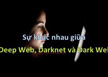 Sự khác nhau giữa Deep Web, Darknet và Dark Web