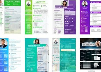 free resume powerpoint