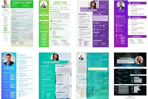free resume powerpoint