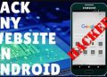 hack website bằng android