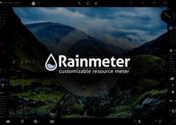 Hướng dẫn trang trí Desktop bằng RainMeter chi tiết nhất 1