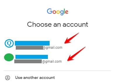 xem tất cả gmail đã tạo
