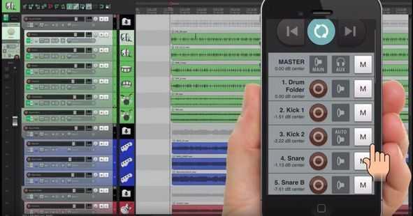 Remix nhạc trên điện thoại, tablet qua Wi-Fi