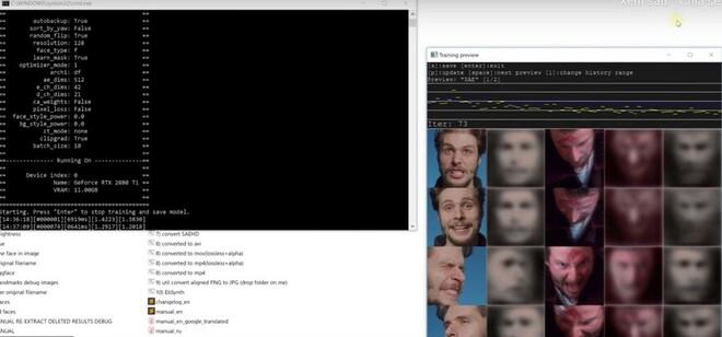 cách dùng deepface lab đê deepfake video