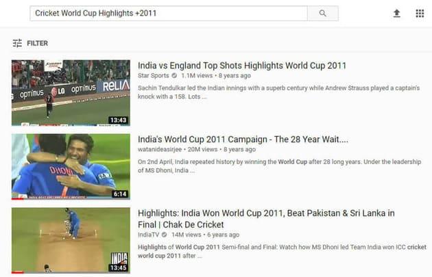 Tìm Video Youtube theo cụm từ kết hợp