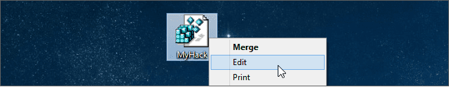 cách edit registry