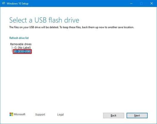Hướng dẫn tạo USB cài đặt Windows 10 chuẩn UEFI 18