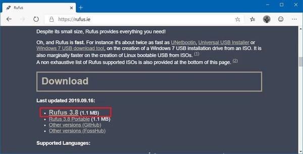 Hướng dẫn tạo USB cài đặt Windows 10 chuẩn UEFI 19