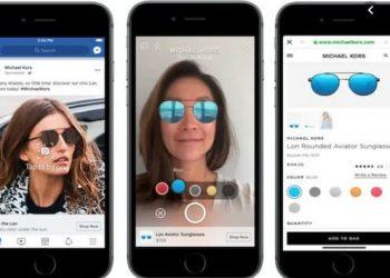 Cách sử dụng công nghệ AR để thử son môi, mắt kính trên Facebook 1