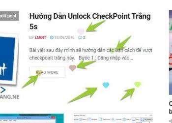hiệu ứng trái tim khi click vào website