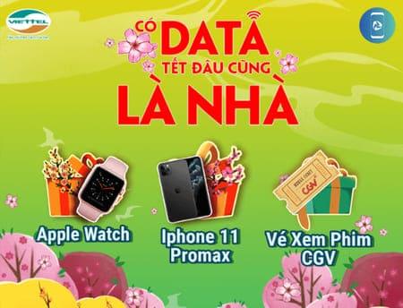 Các Cách nhận DATA 3G/4G tết miễn phí của Viettel năm 2020