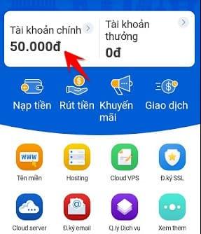 tặng 50000đ app Nhân hòa