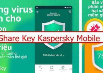share key kasperky mobile