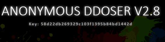 nhập key ddos