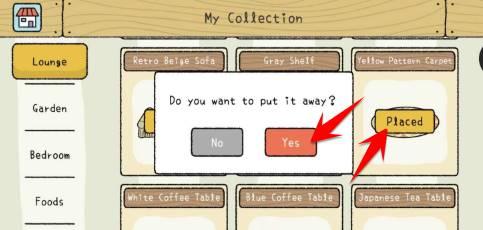 lấy lại đồ bị mất trong Game Adorabe Home