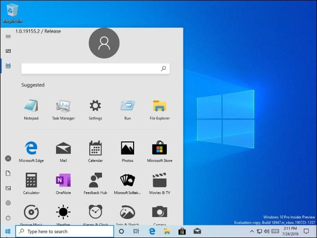 Start Menu mới của Windows 10 có thể loại bỏ Live Tiles mãi mãi