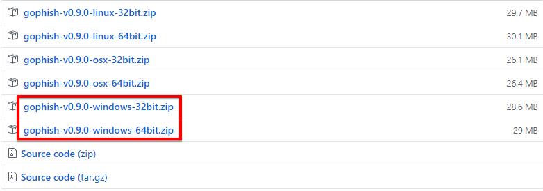 Cách cài đặt Phishing Gophish trên Windows  và Linux 45
