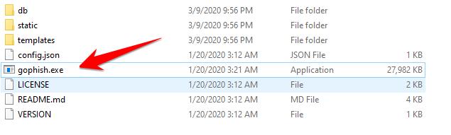 Cách cài đặt Phishing Gophish trên Windows  và Linux 47