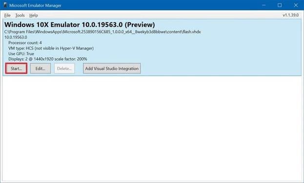 Hướng dẫn giả lập Windows 10X trên Windows 10 để dùng thử 29