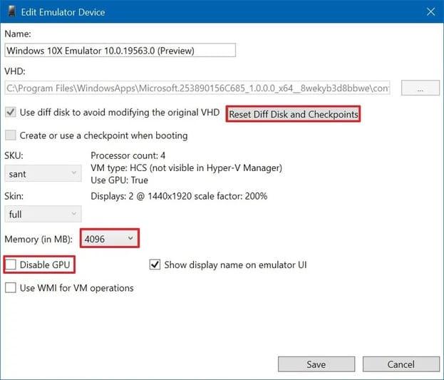 Hướng dẫn giả lập Windows 10X trên Windows 10 để dùng thử 30
