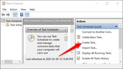 Cách tạo Shortcut tắt UAC trên Windows bằng Scheduled task