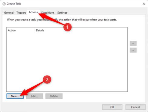 Cách tạo Shortcut tắt UAC trên Windows bằng Task Scheduled 24