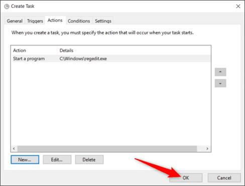 Cách tạo Shortcut tắt UAC trên Windows bằng Task Scheduled 28